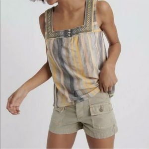[Lucky Brand] NWT Square Neck Tank